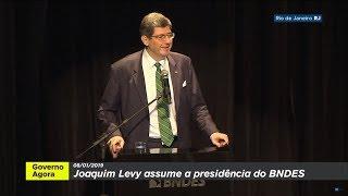 Cerimônia de transmissão do cargo de presidente do BNDES à Joaquim Levy