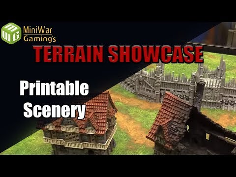 Print your own Terrain from Printable Scenery