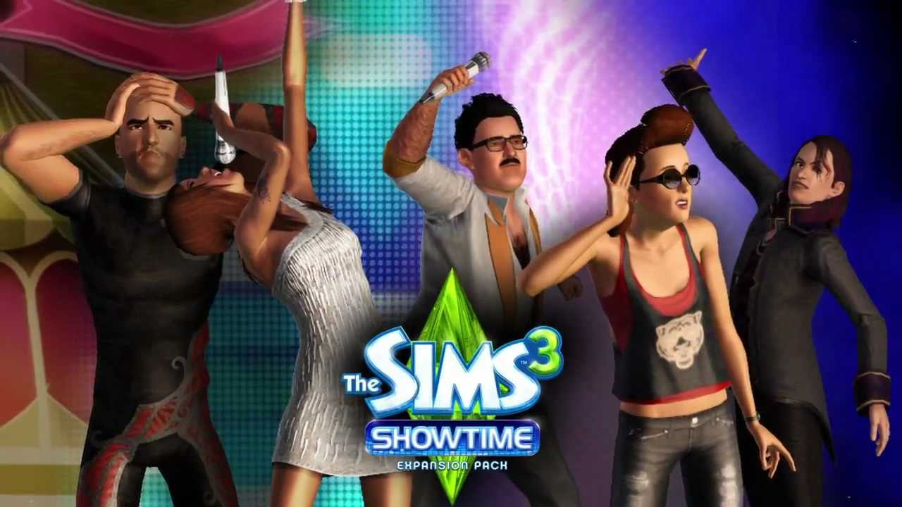 the sims 3 showtime trailer youtube. Black Bedroom Furniture Sets. Home Design Ideas