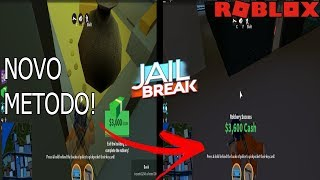 NEW METHOD OF CROSSING WALL ON JAILBREAK!! ROBLOX BUG on Jailbreak!