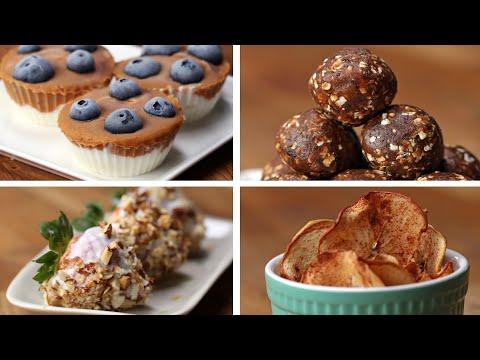 4 Lighter Sweet Snacks