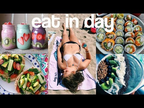 What I Eat in a Day- Healthy, Quick, and Easy