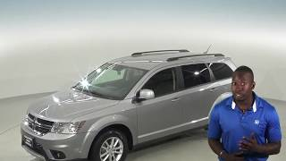 C96806NC - Used, 2015, Dodge Journey, SXT, AWD, Silver, SUV, Test Drive, Review, For Sale -