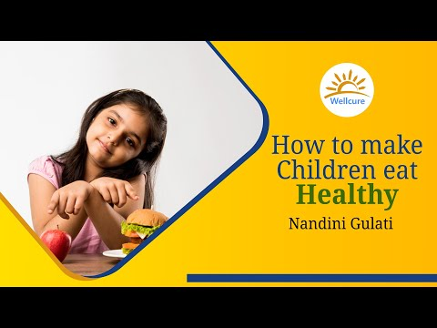 How to make your children eat healthy food?
