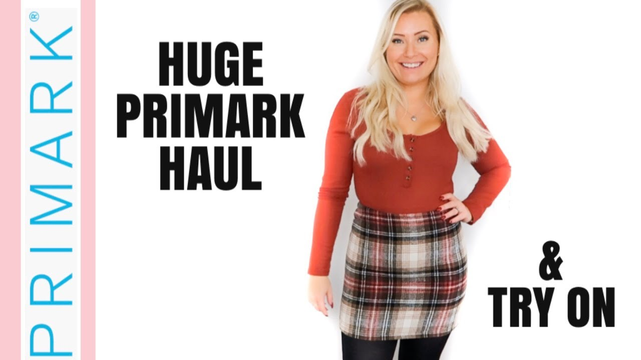 [VIDEO] - NEW!! HUGE PRIMARK TRY ON HAUL! | OCTOBER 2019 AUTUMN / WINTER FASHION | NEW IN FASHION 4