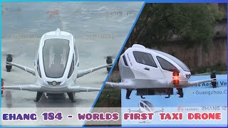 Worlds first passenger taxi drone ...
