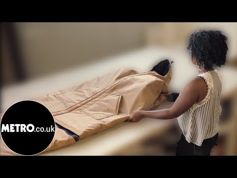 This coat turns into a sleeping bag for homeless people | Metro.co.uk