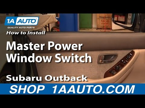 00-04 SUBARU LEGACY OUTBACK PASSENGER RIGHT SIDE POWER WINDOW SWITCH