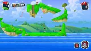 Worms Crazy Golf GAMEPLAY PC HD