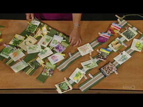 Seed packet ribbon | Trisha Shirey | Central Texas Gardener