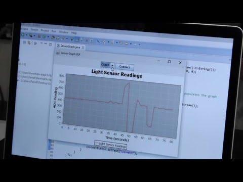 Graph Arduino Sensor Data with Java and JFreeChart