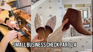 Small Business Check ~ Part 24