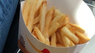 BURGER KING HAS MCDONALD'S FRIES IN PUERTO RICO?!?!