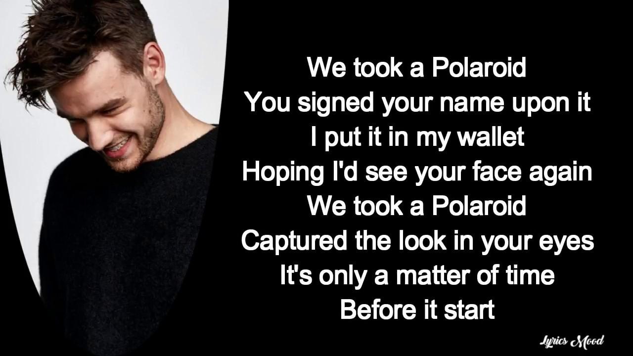 Jonas Blue, Liam Payne, Lennon Stella - Polaroid lyrics #1