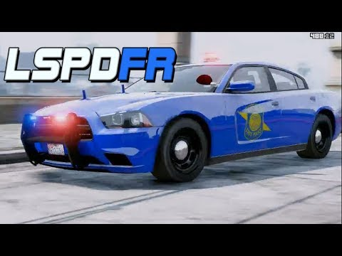 GTA 5: LSPDFR #38 Pursuit Days (Michigan State Police Dodge Charger)