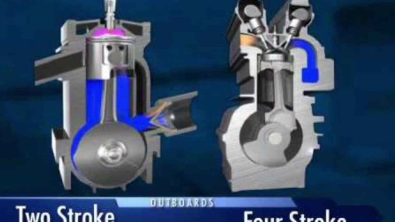 2 stroke outboard motors vs  4 stroke outboard motors, which is more fuel  efficient?