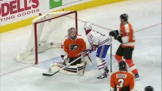 Jeff Petry 2-2 Goal - Canadiens @ Flyers - 2/2/2016 - HD