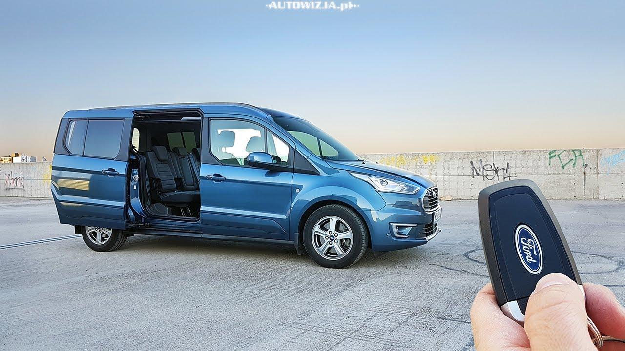 Ford Grand Tourneo Connect 1 5 Ecoblue 120 Test Pov Drive