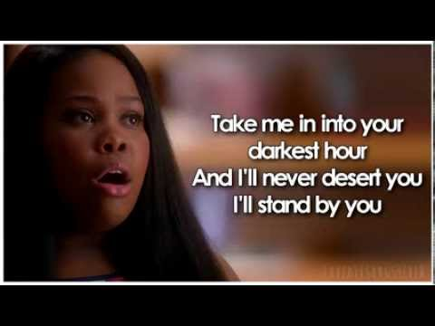 Glee - I&39;ll Stand By You