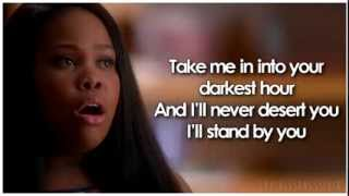 Baixar Glee - I'll Stand By You (Lyrics)