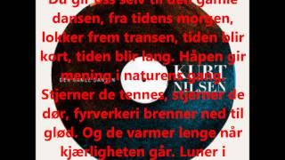 Kurt Nilsen - Den Gamle Dansen - Lyrics - Tekst