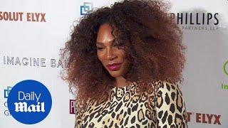Hear her roar! Serena Williams in leopard print at Imagine Ball