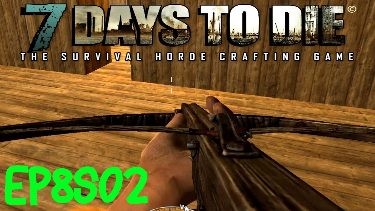 how to use crossbow 7 days to die