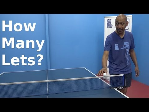 How Many Lets | Table Tennis | PingSkills