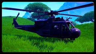 SECRET HELICOPTER HAS COMPLETELY COVERED THE MAP! (Fortnite Season 8)