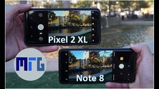 Google Pixel 2 XL vs Samsung Galaxy Note 8 Camera Comparison