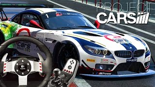 Project Cars  - THE NOOB AND HIS NEW RACING WHEEL