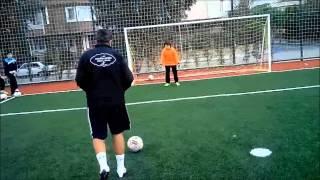 Goalkeeper training - Kaleci antrenmanı - KAYHAN AKGÜN KALECİ OKULU - Pozisyon alma ve top takibi