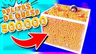 Llenamos la Caja con 500mil Cheetos de Bolita