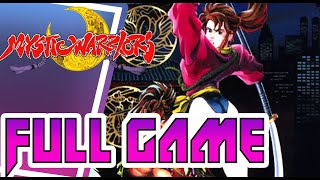 Mystic Warriors - 1993 - Walkthrough  Gameplay - Arcade - Yuri - Full Game