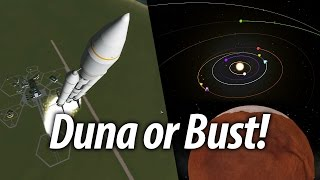 Getting to Duna - Probe Mission (Beginner Tutorial: 12) Kerbal Space Program (KSP) 1.1 Stock Career