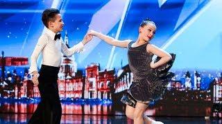 رقص اطفال كأنهما محترفين | برنامج مواهب بريطانيا 2018 - مترجم
