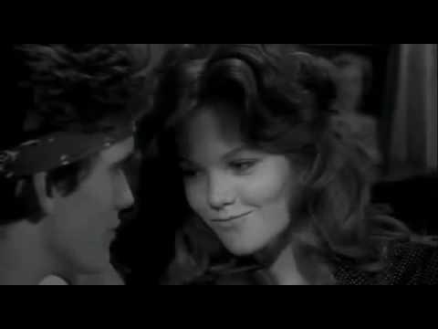 Diane Lane kissing (shoes off) in Rumble Fish (1983) Matt Dillon