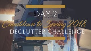 Countdown to Spring Declutter Challenge Day 2  | Take Out Your Recycling