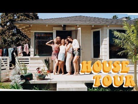 College Beach House Tour!