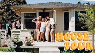 College Beach House Tour!