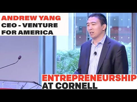 Andrew Yang - CEO of Venture for America