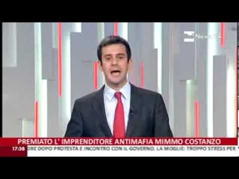 Mimmo Costanzo cofounder Tecnis: Premio Condindustria - Rainews 24.10.13