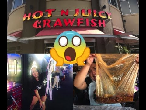 VLOG #1 HOT N' JUICY CRAWFISH GLENDALE, AZ