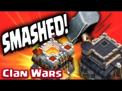 Clash of Clans - War experts V's My Base! (Which strategy is best?)