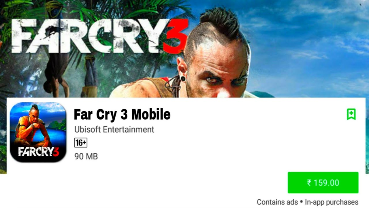 Far Cry 3 Android Download Now Apk Data For Android 100 Working Gameplay And Full Tutorial In Hindi Youtube