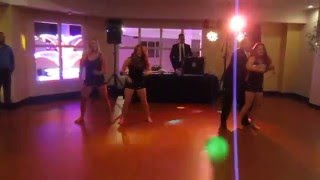 Groom and Sisters Perform Surprise Dance at Wedding