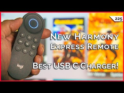Harmony Express Universal Remote Packs Amazon Alexa, Best USB C Charger For Your Laptop, More! Mp3