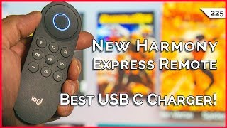 Harmony Express Universal Remote Packs Amazon Alexa, Best USB C Charger For Your Laptop, More!