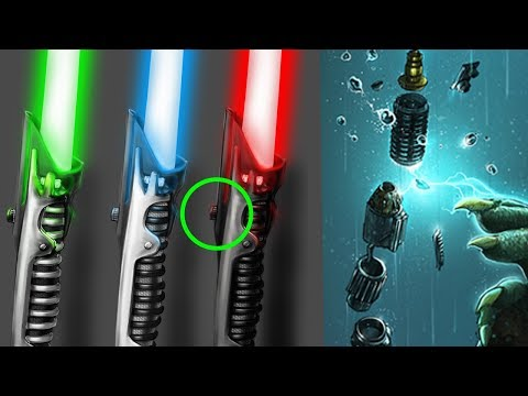 The One Thing You Never Knew About ALL Lightsabers - Star Wars Explained