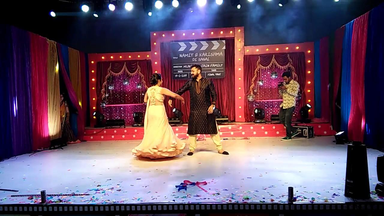 90 S Bollywood Theme Couples Choreographed By Sandeep Singh Rathaur Wedding Planner Ph 9848654436